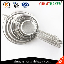 Stainless Steel Wide Edge Mesh Strainers Mesh Food Strainers
