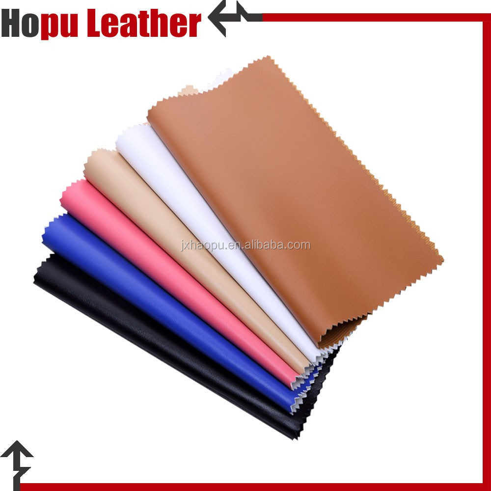 finish leatherette matte pu embossed faux leather