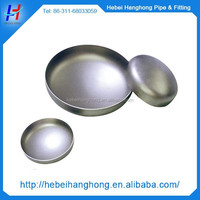 2015 hot selling products stainless steel threaded cap,large steel metal pipe end cap