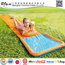 factory wholesale children single inflatable water slide