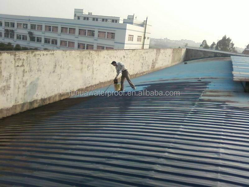 liquid waterproof materials JS waterproof coating paint for Industrial and civil buildings roofing