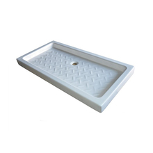 Different sizes custom resin composite shower tray