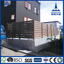 Flexible removable wooden garden fence, decorative plastic/PVC small garden fence