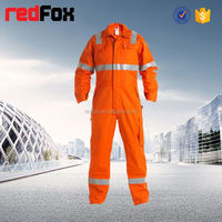 reflective safety antistatic lint free coveralls