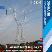 110kv 132kv Electric angle steel transmission line steel tower transmission steel tower