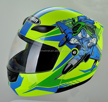 YM-920 full face flip-up motor helmet dot approved helmet ece r22.05