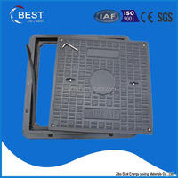 Composite Double Seal Manhole Cover, Square Manhole Cover