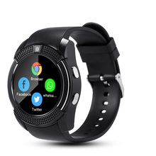 Sport V8 <strong>Smart</strong> <strong>Watch</strong> Anti-lost Smartwatch Support SIM TF Card Clock <strong>Watches</strong> Call Step Count Sleep Remind