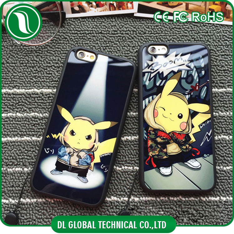 Personalized Pokemon Pocket Monsters Pikachu printing case Protective soft Rubber Phone Case for iphone 5