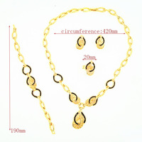 Hot explosion models Africa Middle East wind bride wedding women's jewelry sets necklace earrings sets