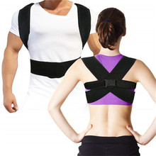 Back Posture Corrector Clavicle Support Brace With Waist Support Wide Straps for Women & Men