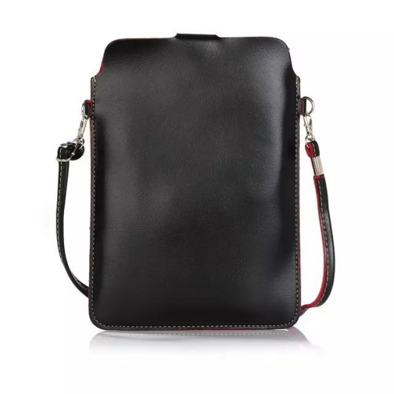 PU leather tablet case for iPad mini universal leather bag for samsung tablet 8 inch with shoulder straps