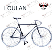 HOT SALE LOULAN! road bicycle, color fixed gear bicycle VINTAGE bike