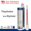 High strength concrete sealant dispenser epoxy adhesive static mixer anchorage resin glue