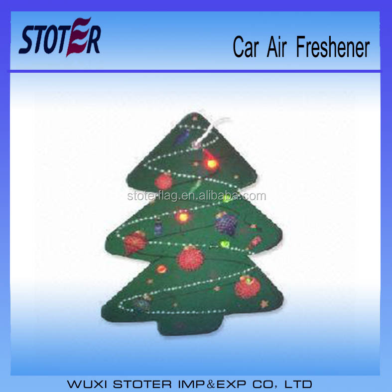 Cheap Promotional Hanging Paper Air Freshener For Car