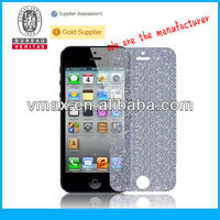 Manufacturing company!! sparkle diamond screen protector for iPhone 5 oem/odm (Diamond)