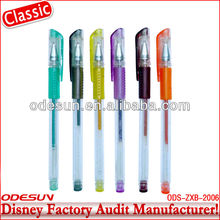 Disney factory audit manufacturer's 2014 newest gel ink pen 143130