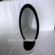 Fashion oval handmade decorative acrylic mirror
