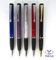Cheap price metal rubber ballpoint pen for promotional