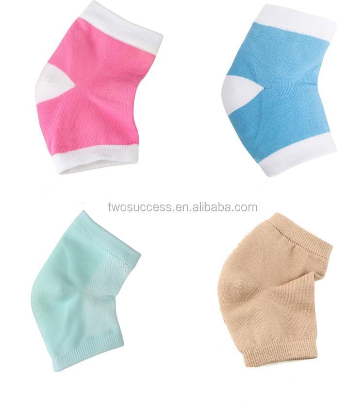new 4-colors nylon stylish heath care heel care socks