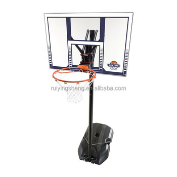 Professional PC backboard movable basketball hoops/stands