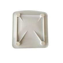 Square Melamine Coin <strong>Plate</strong>