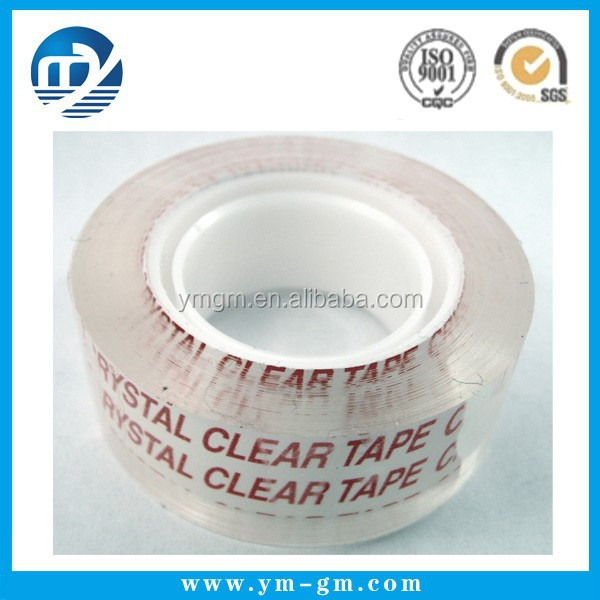 Factory price clear acrylic adhesive bopp carton sealing packaging tape