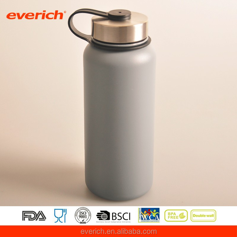 powder coated hydro flask 32 oz stainless steel water bottle