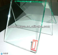 High Quality clear float glass factory with CCC CE ISO