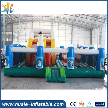 Hot sale inflatable christmas snowman bouncer , inflatable bouncy castle for sale