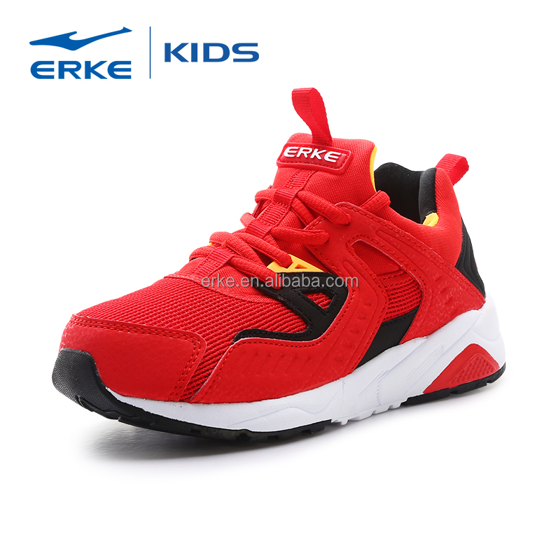 ERKE wholesale newest high quality children comfortable sport shoes fashion kids shoes 2017