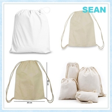 New World Online Shopping Cotton Canvas Drawstring Bag Buy From China