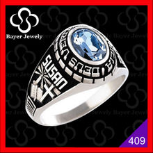 Custom class ring with high quality and low price