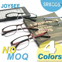Wenzhou Joysee 2016 Manufacturers Wholesale Italy Designer Wine Silver Metal Optical Eye Frame Made In China