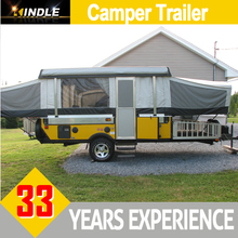 Canada Pull-type Back Tow Truck Trailer for Touring