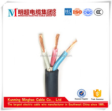 fire resistent polyvinyl chloride insulated polyvinyl chloride jacket KVV22 steel tape armored flexible control cable