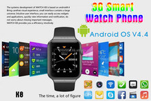 smart watch WIFI+3G+GPS+SIM card intelligent wrist watch k8 sim card smart watch phone 3G smartwatch