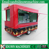 custom made food trucks for sale KN-400R