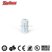 High Temperature nicd sub c 1.2v battery / sc 1.2v 2000mah nicd battery / nicd sc rechargeable emergency lighting battery