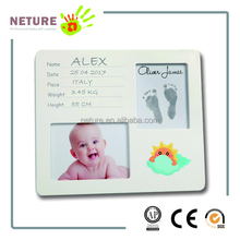 new baby tenderly prints decoration material frame for unique gift ideas