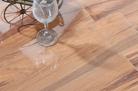 glazed glossy surface flooring porcelain ceramic wood tile 600x150
