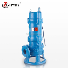 Non-clog cast iron electrical cutting motor pump pompa submersible sewage pump for waste water