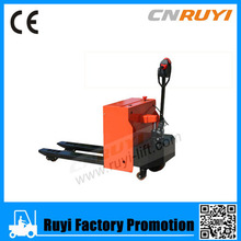 CE marked hydraulic semi electric pallet jack/pallet truck for sale