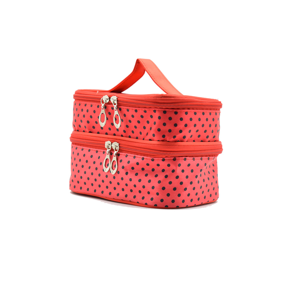 High Quality large cosmetic travel bag / Makeup Bag with Zipper
