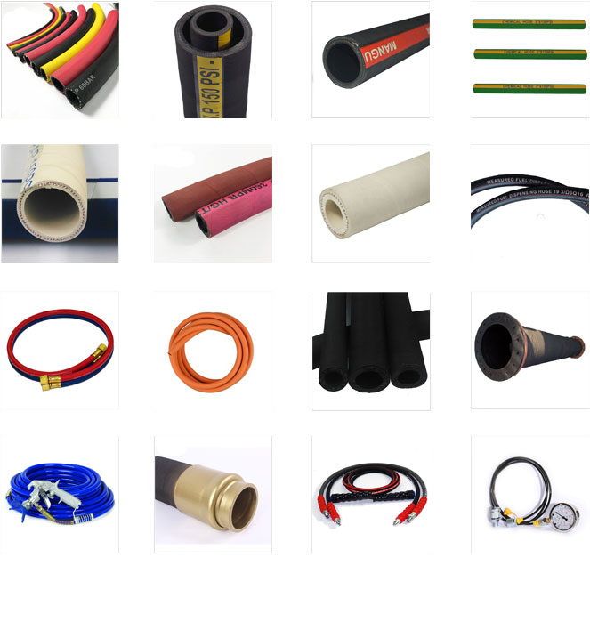 1 inch steel wire braided mineral fuel oil diesel gasoline rubber hose