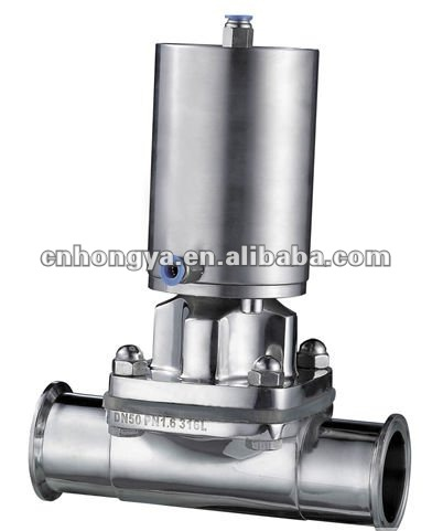 Sanitary Pneumatic Operated Diaphragm Valve