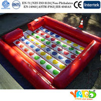 Outdoor Inflatable Sport Games Giant Twister with Durable PVC Material