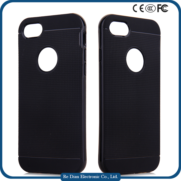 Factory Wholesale TPU + PC Drop Resistence armor phone case for iphone7