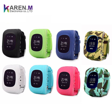 2018 most hot selling gps sim card kids smartwatch phone with Anti-lost GPS Tracker SOS Call Location Finder Remote Monitor