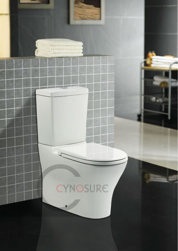 CE approved!A-GRADE HOT SALE WC Siphonic Washdown Two Piece Toilet back to wall High Quality Sanitary Ware for OEM/wholesale